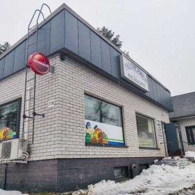 Palonurmen kyläkauppa Kuopion Nilsiässä.
