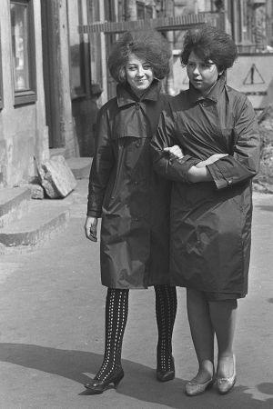 Arkimuotia 1960-luvun Leningradissa. Kuva kadulta.
