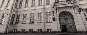 Pushkin-museo Pietarissa Moikalla.