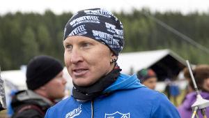 Orienteraren Mårten Boström under Jukolakavlen i juni.