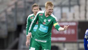 Jani Lyyski är kapten för IFK Mariehamn.