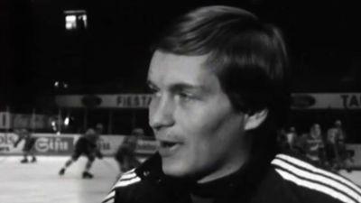 Matti Hagman haastattelussa 1980.