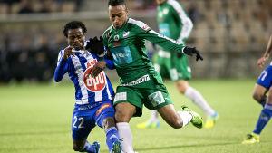 HJK:s Anthony Annan och IFK Mariehamns Brian Span har varit tongivande spelare för sina klubblag.