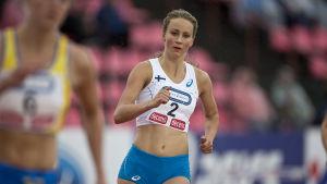 Viivi Lehikoinen, Sverigekampen 2016.