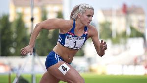 Jutta Heikkinen, Kalevaspelen 2016.