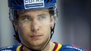 Michael Keränen inledde säsongen 2016-17 i Jokerit.