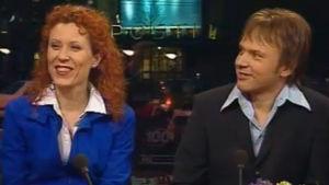 Susanna Rahkamo ja Petri Kokko Aamu-tv:n haastattelussa