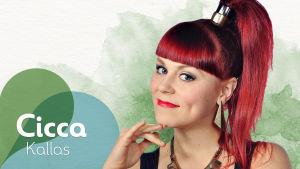 Vihreiden Valojen rumpali Cicca Kallas