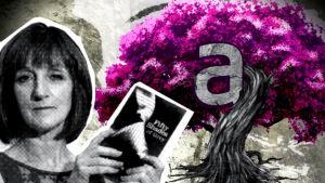 Claire Phillippson pitelee 50 Shades of Grey -kirjaa, ohjelmasta A-Stream (2012)