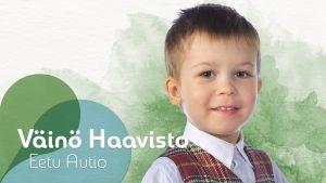 Väinö Haavisto  Uusi Päivä sarjasta