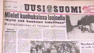 Uuden Suomen lehtikirjoitus