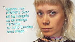 Ida Henrikson är kränkt