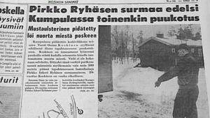 Helsingin Sanomien uutisointia Kumpulan puukotuksesta