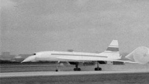 Concorde laskeutuu
