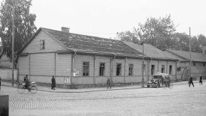 Etsivän keskuspoliisin poliittisten vankien säilytystalo Fabianinkadulla Helsingissä