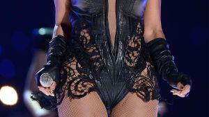 Beyoncés skrev och mikrofon