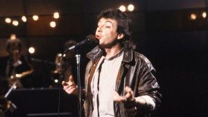 Kirka laulaa vuoden 1984 euroviisukarsinnoissa.