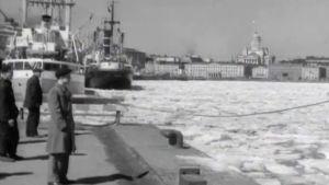 Kevättalvi vuonna 1956 Helsingissä