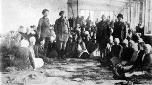 Poliittisia naisvankeja v. 1918