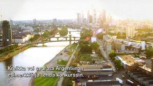 Kuvaa Buenos Airesista ilmasta käsin
