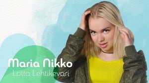 Kuvassa Maria Nikko (Lotta Lehtikevari).