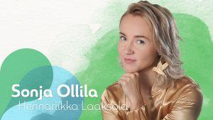 Kuvassa Sonja Ollila (Hennariikka Laaksola).