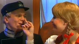 Ansa ja Oiva tutustuvat, ohjelmasta Veturi (1995)