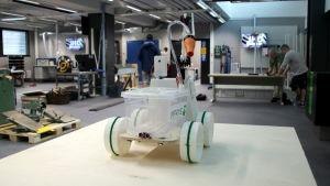 Det nya innovationscentret vid Villmanstrands tekniska högskola.