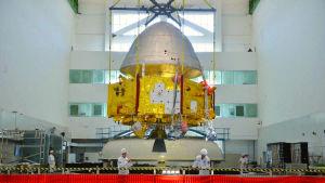 Tianwen-1 -luotainta valmistellaan lentoon.