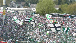 Bökelbergstadion. Borussia Mönchengladbachs forna hemmaplan
