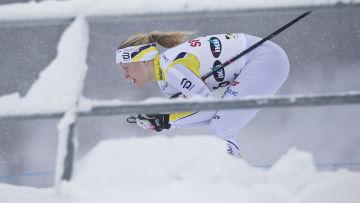Andrea Julin, skandinaviska cupen, Lahtis, januari 2017.