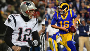 Tom Brady och Jared Goff