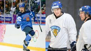 Mikael Granlund, Aleksander Barkov, Jussi Jokinen