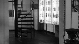 Altian viinamuseon aula Rajamäellä.