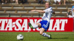 Sanna Talonen har gjort 30 mål i landslaget