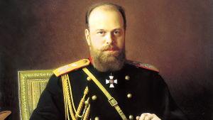 Porträtt av Aleksandr III.
