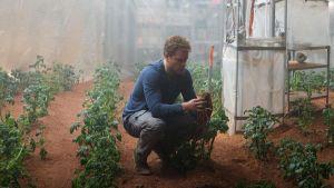 Elokuvassa Yksin Marsissa astronautti Mark Watney (eli Matt Damon) kasvattaa perunoita käyttäen lannoitteena ihmislantaa.