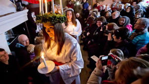 Alexandra Nyroos var Brages Lucia 2013