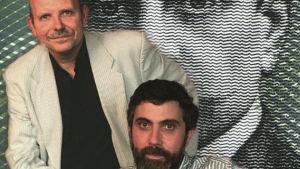 Timo-Erkki Heino ja Paul Krugman (1997).