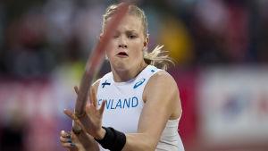Wilma Murto hoppar stav, Sverigekampen 2016.