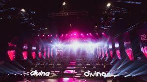 Divina-turnaus Shanghaissa.