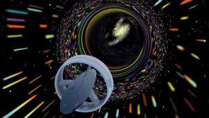 Maskhål från science fiction.