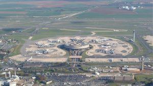 Charles de Gaulle-flygplatsen i Paris