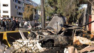 Efter explosion i syrien
