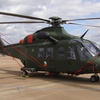 Kuvan Agusta Westland 139 on Irlannin ilmavoimien käytössä.