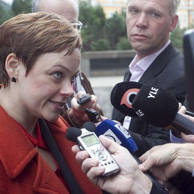 Paula Lehtomäki toimi ympäristöministerinä vuosien 2007-2011 aikana.