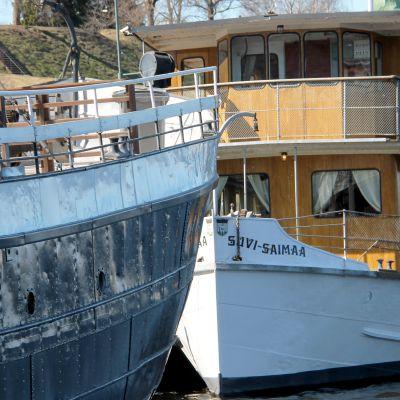Laivat Lappeenrannan satamassa