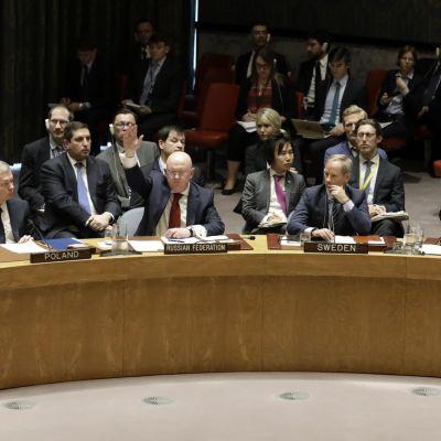 Kuva aiemmasta turvallisuusneuvoston kokouksesta.