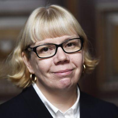 Julkisen sanan neuvoston (JSN) puheenjohtaja Elina Grundström