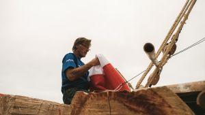 Øyvin Lauten toimii kapteenina toisessa lautassa